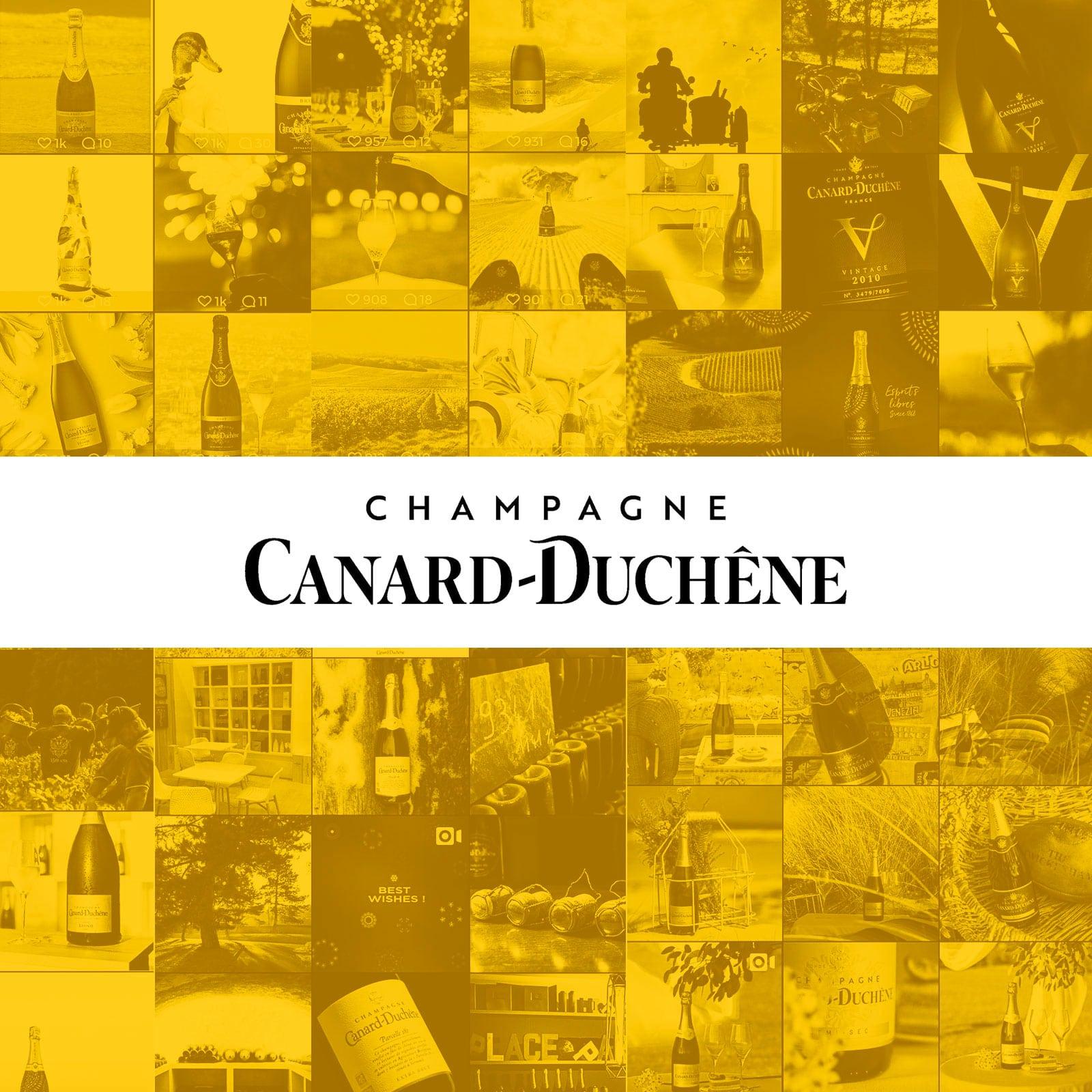 Champagne Canard Duchene par Lilian Barbier